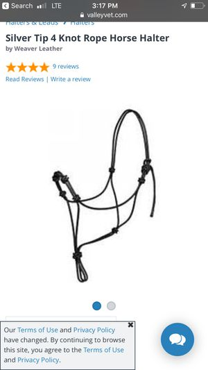 Silver tip 4 point training halter for Sale in Tullahoma, TN