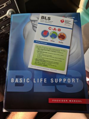 Basic Life Support 2017 BLS for Sale in Chula Vista, CA