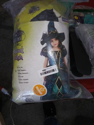 Girls child's witches costume new size large for Sale in Las Vegas, NV