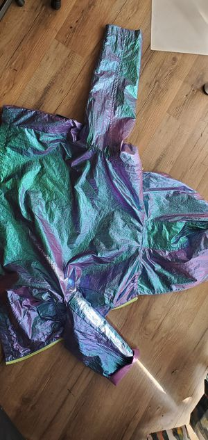 Kids Iridescent Light Hooded Jacket NEW Size 12 for Sale in San Diego, CA