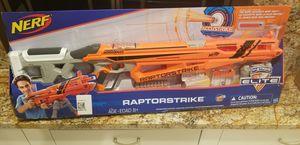 Nerf Raptorstrike Toy Gun for Sale in Auburn, WA