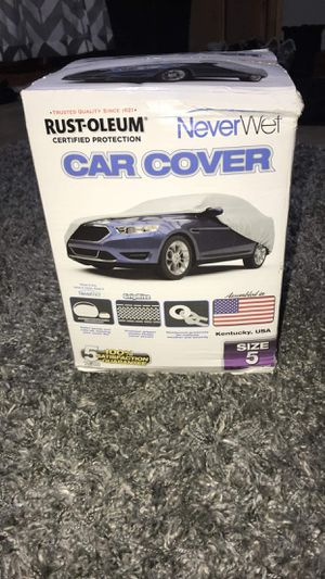 Rust oleum car cover size 5 extra large vehicles. BRAND NEW for Sale in Arnold, MO