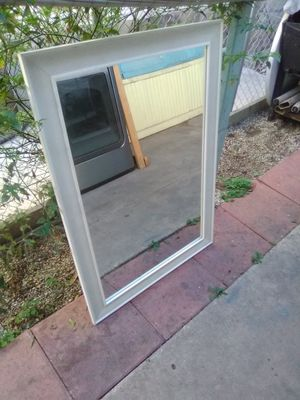 Mirror Espejo - 2.5' x 3.5'- White border for Sale in Bell Gardens, CA