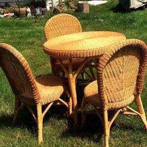 Rattan furniture-fall sale for Sale in Carnation, WA