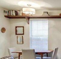 3-light semi flush, brushed nickel indoor light fixture for Sale in Arlington, VA