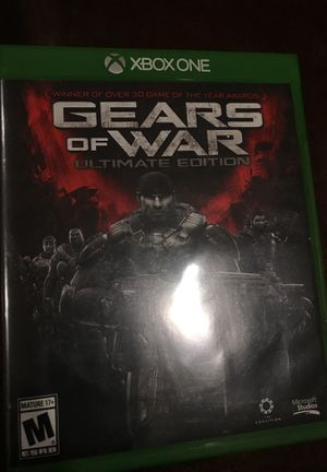 Xbox One - Gears of War - Ultimate Edition for Sale in Gaithersburg, MD