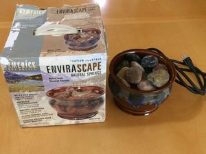 Homedics Envirascape Natural Spring Tabletop Relaxation Fountain for Sale in Dunwoody, GA