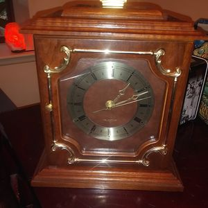 Wooden clock/jewelry box for Sale in Holbrook, MA