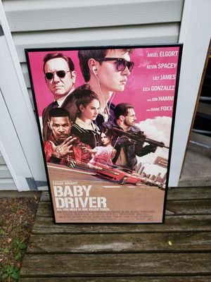 Baby Driver framed poster for Sale in Hilliard, OH