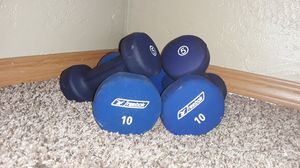 5 and 10lb dumbbells for Sale in Tumwater, WA