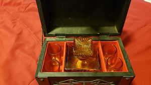 Vintage tilso Japan barware decanter set passed J.G.I.A. for Sale in Bellevue, WA