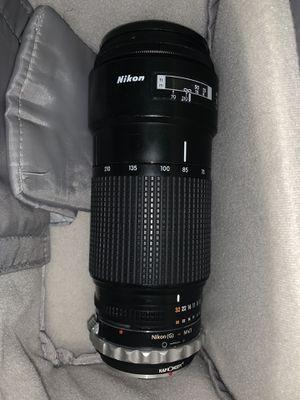 Nikon AF NIKKOR 70-210mm 1:4 for Sale in Fort Lauderdale, FL