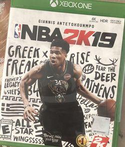 NBA 2K19 - Microsoft Xbox One - Brand New for Sale in Lakewood,  CA