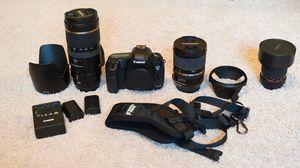 Full frameCanon 5d mark iii. 3 lenses. All f2.8. Fantastic package deal for Sale in Bothell, WA