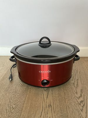 Crock-Pot 6qt Manual Slow Cooker for Sale in Los Angeles, CA