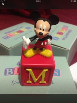 """Grolier Collectibles - Disney Alphabet Fun Block - """"M"""" is for Mickey, Brand New for Sale in La Vergne, TN"""