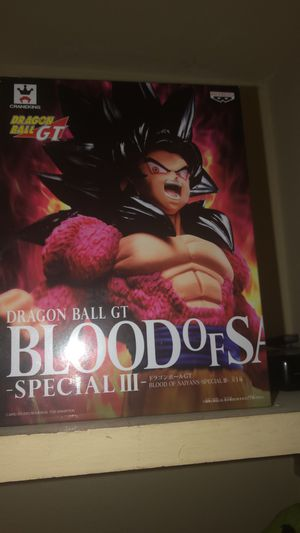 Super sayain 4 goku collectible action figure for Sale in Fresno, CA