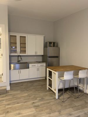 Kitchen island with two barstools for Sale in San Diego, CA