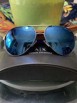 Armani Exchange Blue Mirror Glasses for Sale in Miami,  FL