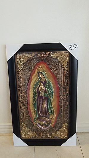 Virgen de Guadalupe Repujado for Sale in Houston, TX