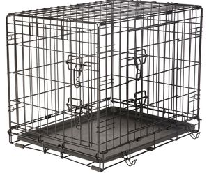 Small black dog crate cage for Sale in Lakewood, OH