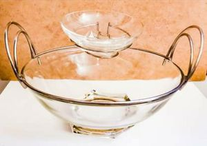 Vintage Retro 1960s Chip n Dip bowl set for Sale in Boston, MA