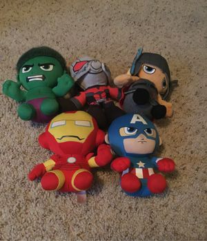 Marvel's Avengers Plushies For Sale for Sale in Chula Vista, CA