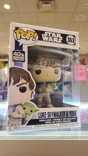 LUKE SKYWALKER & YODA Funko POP! # 363 STAR WARS for Sale in Los Angeles, CA