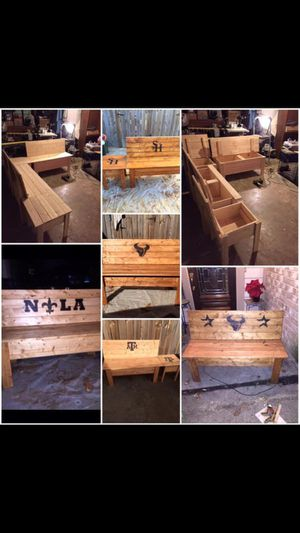Handmade Benches and more for Sale in Spring, TX