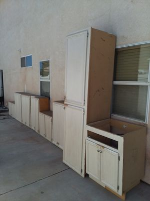 Top kitchen cabinets for Sale in Menifee, CA