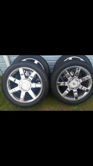 Stock 22s Escalade wheels for Sale in Tacoma, WA