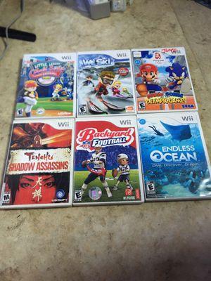 Wii games for Sale in Dallas, TX