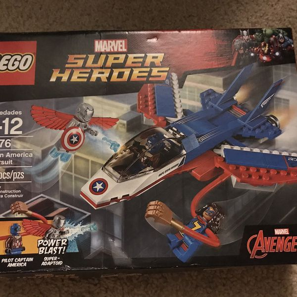 LEGO Super Heroes Captain America Jet Pursuit 76076