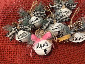 Jingle bells ornaments for Sale in Modesto, CA