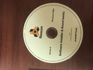 Propellerhead Software Reason 8 - Music Production Software (English) for Sale in Greensboro, NC