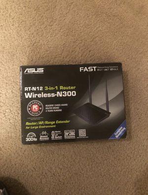 ASUS N300 Router for Sale in Nolensville, TN