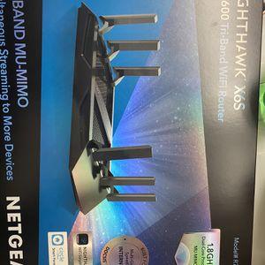 Netgear Nighthawk X6S AC36000 tri-band wifi router for Sale in Frisco, TX