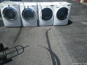 Kenmore or Whirlpool steam washer and dryer set your choice 6mo warranty {contact info removed} for Sale in Capitol Heights, MD