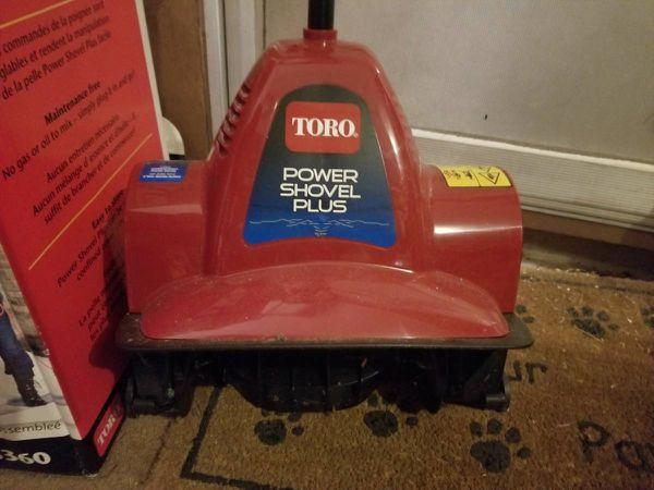 Toro Power Shovel Plus Broom For Sale In Newark Oh Offerup