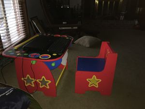 kids deluxe art desk for Sale in Indianapolis, IN