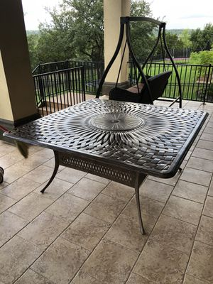 Patio Table Furniture with built-in Grill for Sale in Austin, TX