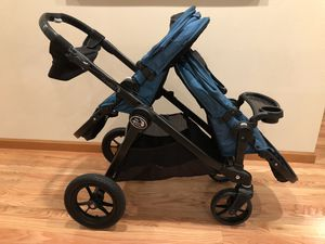 City select baby jogger double stroller for Sale in Everett, WA