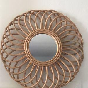 Boho Rattan Mirror for Sale in Los Angeles, CA