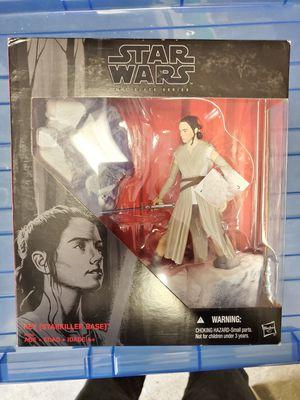 Star Wars Black Series 6 Rey starkiller base for Sale in Kent, WA