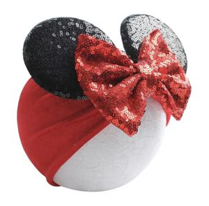 Minnie Headband Mouse Ears Sequin Bow, Velvet Headband for Baby Toddler. CHOOSE COLOR. for Sale in Las Vegas, NV