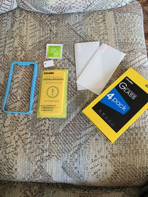 2 glass screen protectors Iphone Xr for Sale in Portage, MI