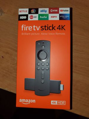 Amazon Fire 4k Stick for Sale in Garland, TX