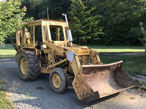 Ford back hoe Diesel Engine runs strong I was asking 7000 but will now give in to 5500 I need the cas for Sale in Trenton, NJ