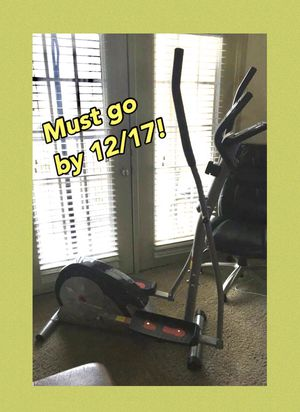 BEST DEAL Elliptical Workout Machine LIKE NEW for Sale in Lewisville, TX