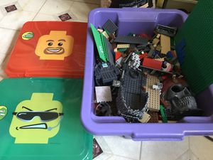Lot of legos and storage containers for Sale in Gaithersburg, MD